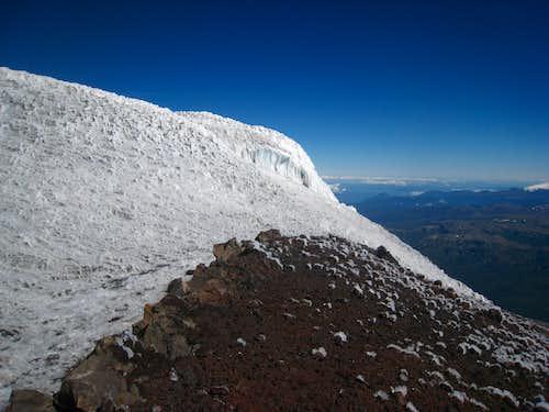 Summit of Lanin