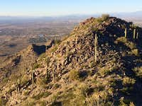 Looking toward Queen Creek from the Summit