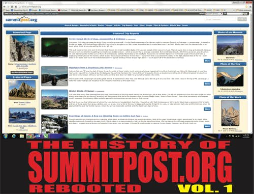 THE HISTORY OF SUMMITPOST Volume 1