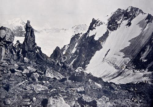 Valais - Pennines Alps old pictures