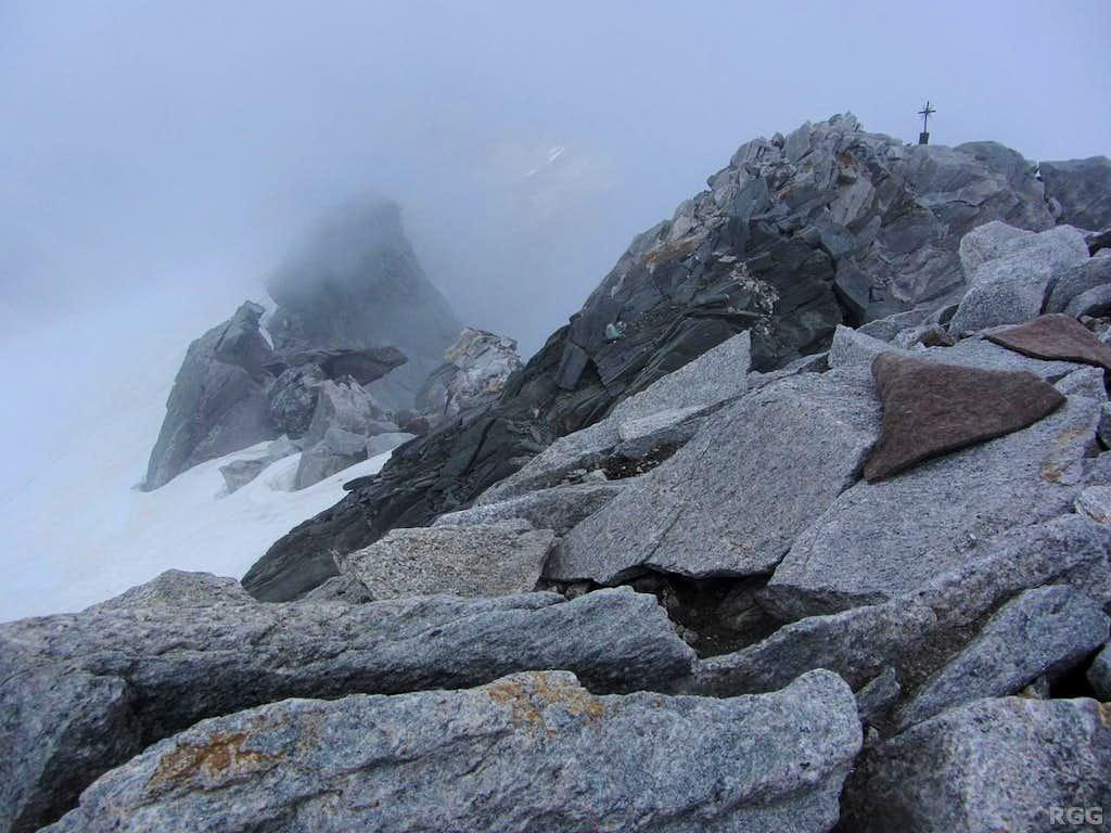 Großer Möseler summit cross