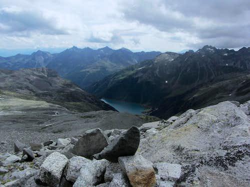 Neveser Stausee / Lago di Neves