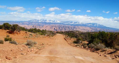 La Sals over Long Canyon