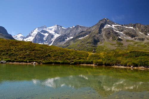 At the Lac d'Arpitettaz