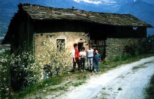 Kids & Teens ...Towards the four Reveriers Hamlets 1985