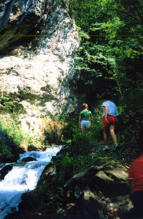 Five Southern ... Towards Dard Vallon-Gorge 1985