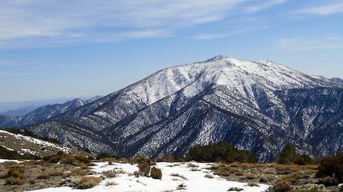 Looking towards Rogers Peak