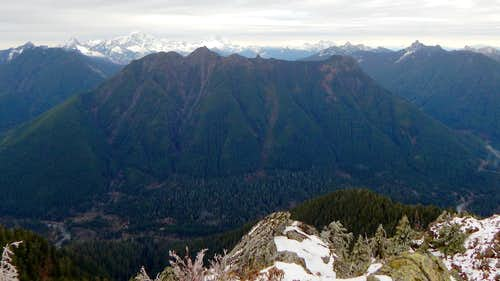 Looking north from Marble Peak