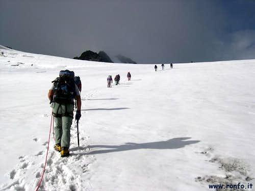 The Grande Assaly Glacier...