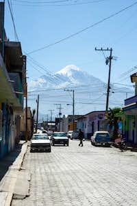 Citlaltepetl from Tlachichuca
