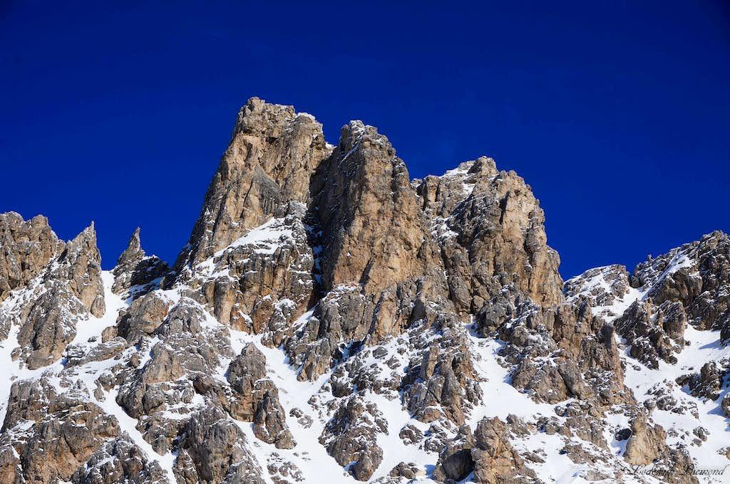 Piccolo Cir / Kleine Cirspitze (8268 ft / 2520 m )