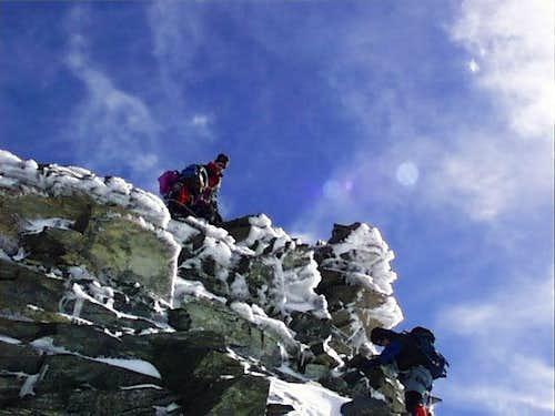 Climbing Pollux