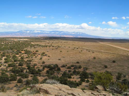 La Sals from the Knoll