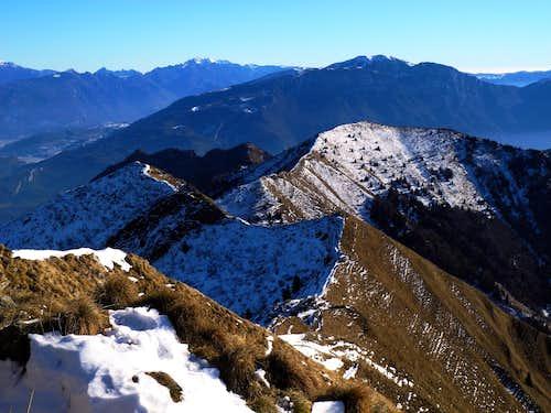 Cima Parì - Cima Sclapa summit crest
