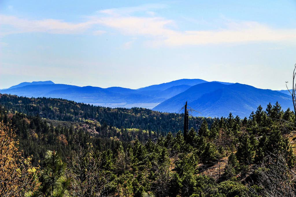 Mayacamas Mtns. and Mt. Konocti