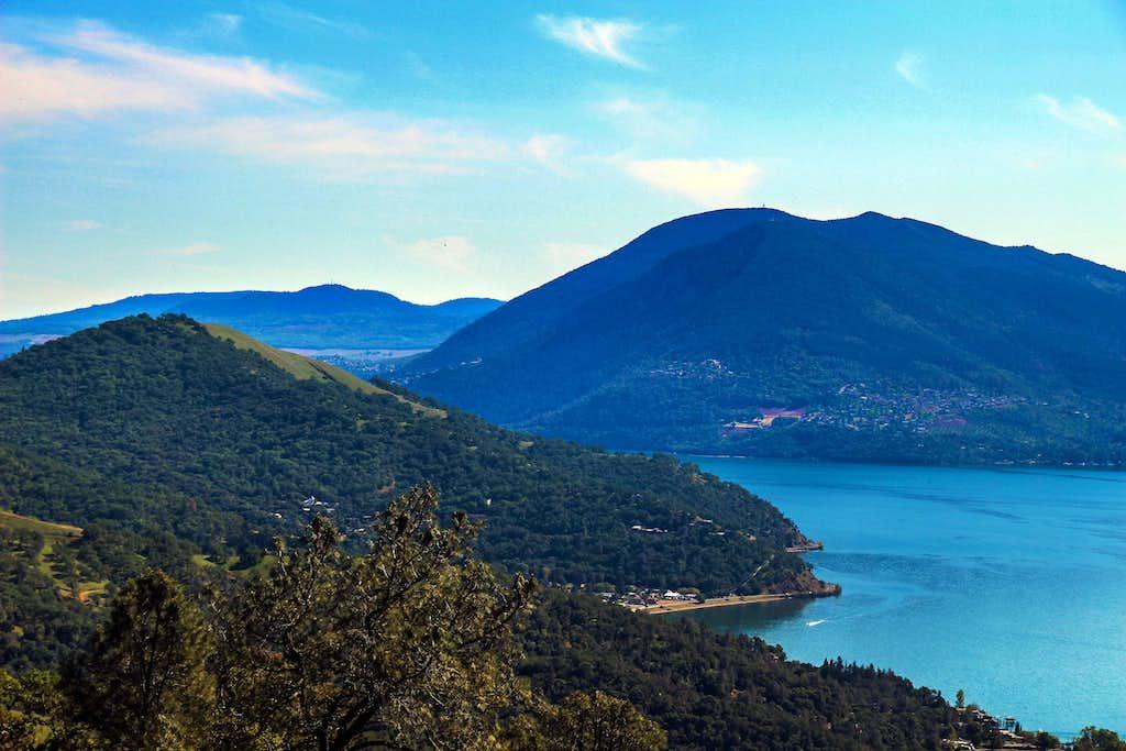 Clear Lake and Mt. Konocti