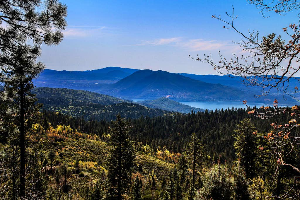South to Clear Lake, Mendocino National Forest