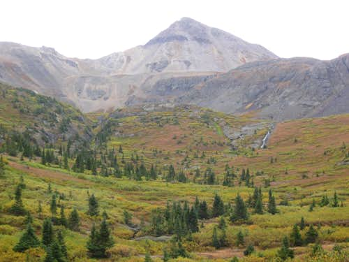 Trico Peak and Ingram Basin