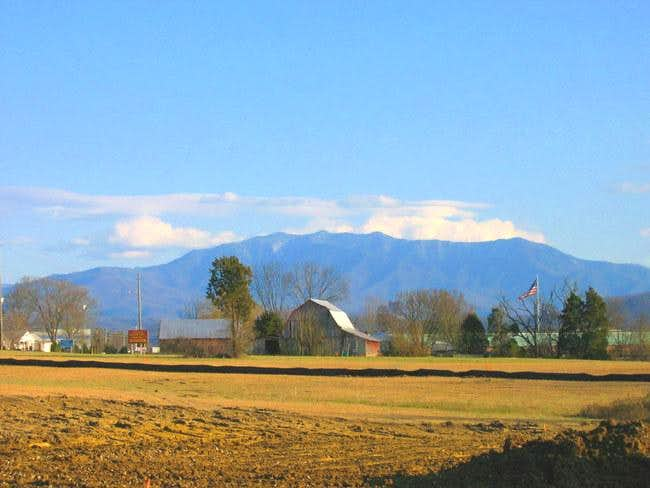 LeConte from Sevierville, the...