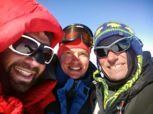 Elbrus Winter Expedition 2015