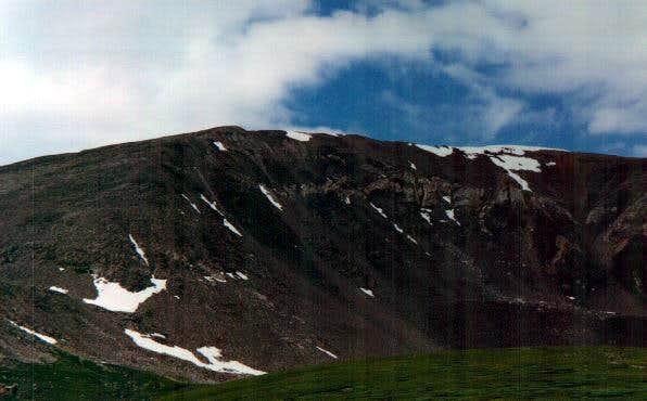 Mt Bross taken from Kite...