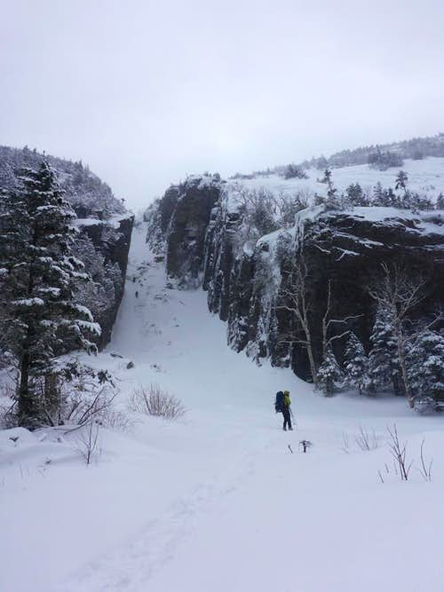Mixed Bag : A Winter Ascent of Mount Colden's Trap Dike