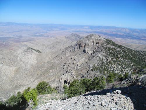NV and UT West Desert from West