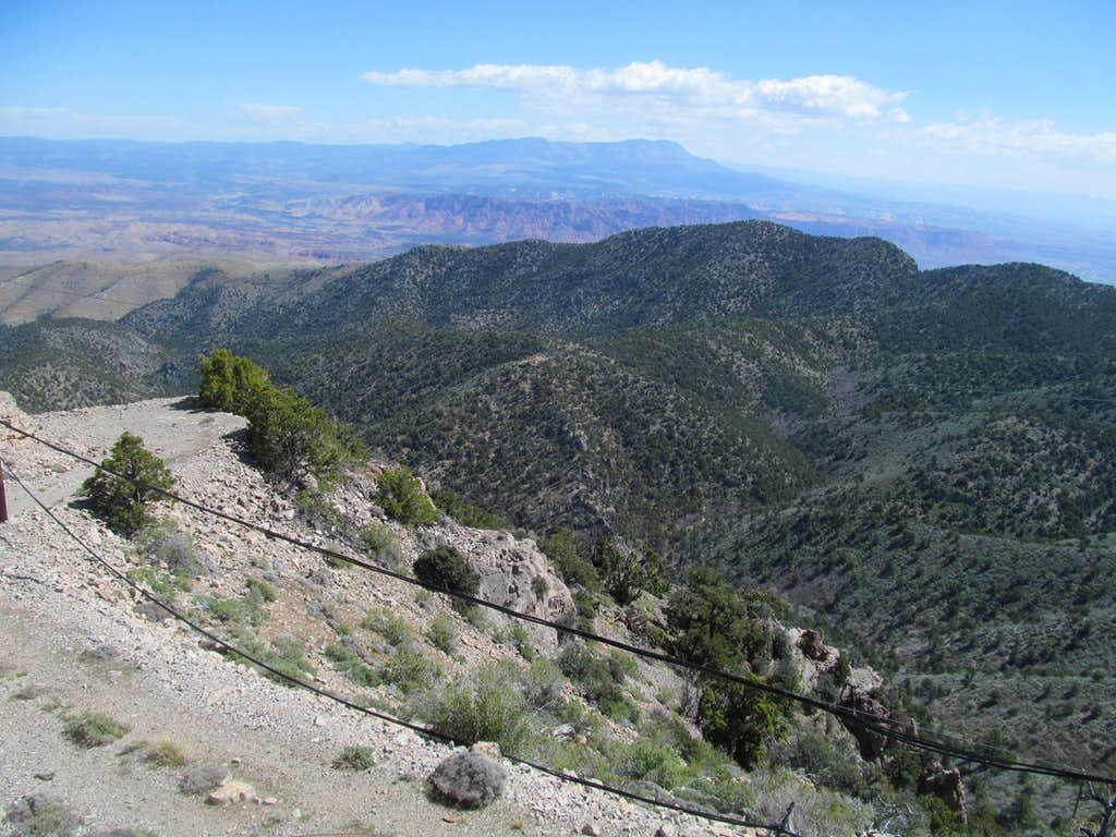 Pine Valley Mtns from West
