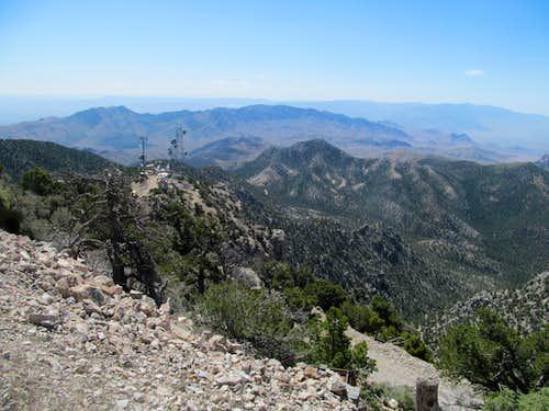 Scrub Peak from West