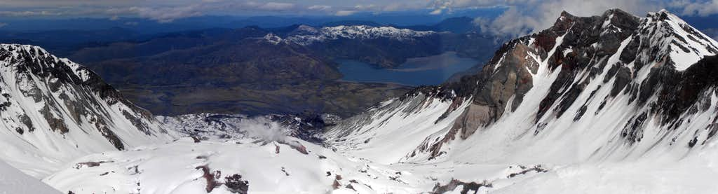 Mt. St. Helens Crater Panorama