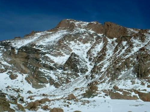 3/5/05: Longs Peak from the...