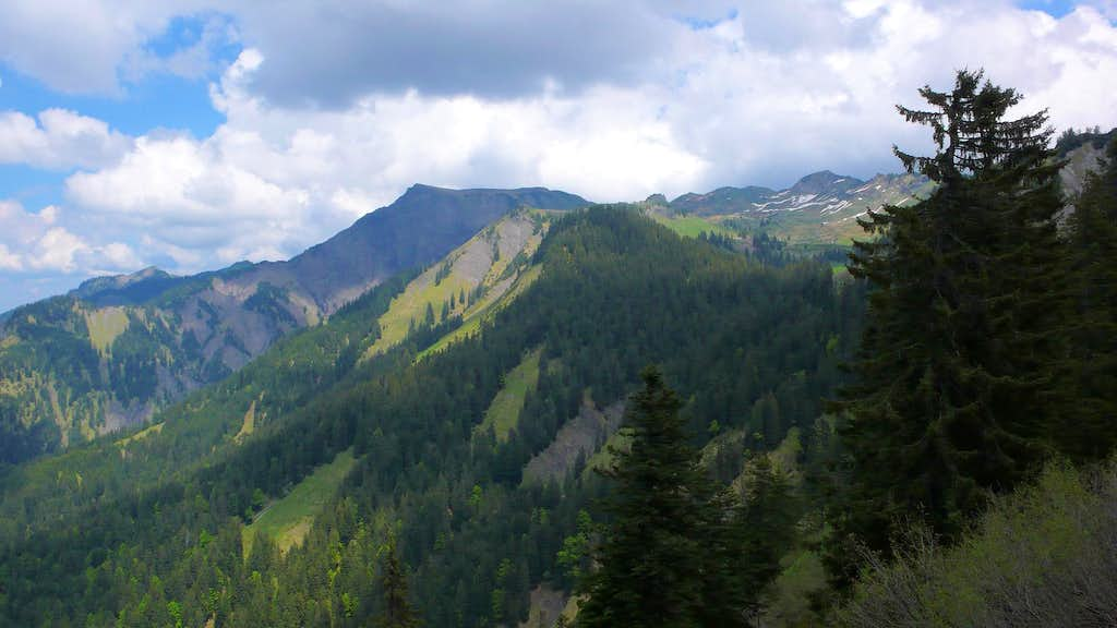 Valuera Ridge, Hoher Freschen and Matona