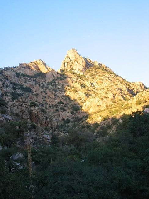 Unnamed 5985, a jagged crag...