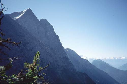 Hozomeen Mountain, North Peak