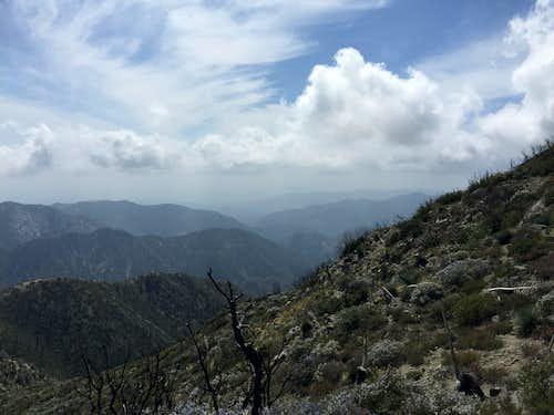 San Gabriel Mountains, Front Range