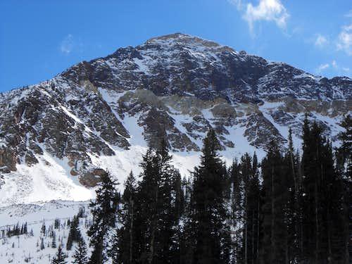 West Twin Overlooking Snowbird