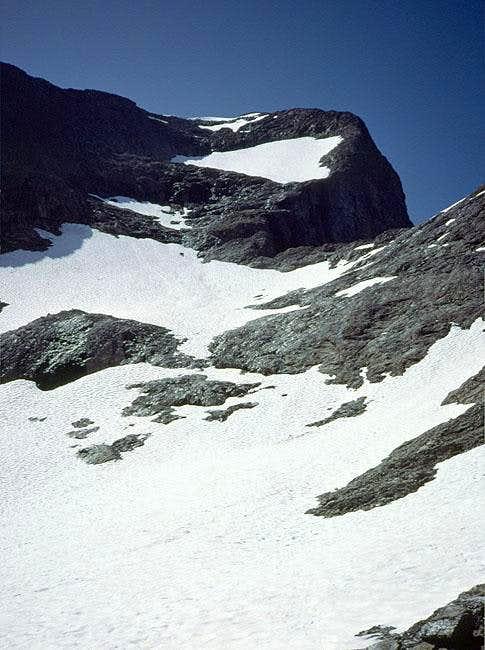 The upper slope of the NE...