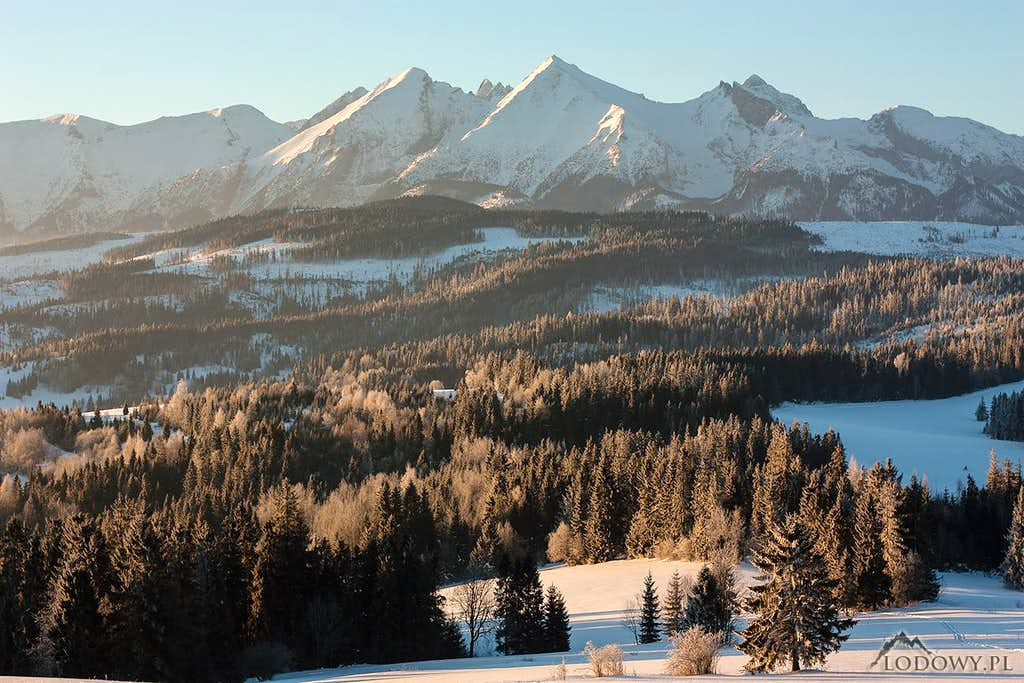 White Tatras at sunrise