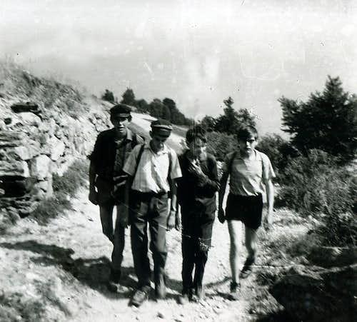 Aosta / 4a An Old Walk by Aosta to Becca Viou 1965