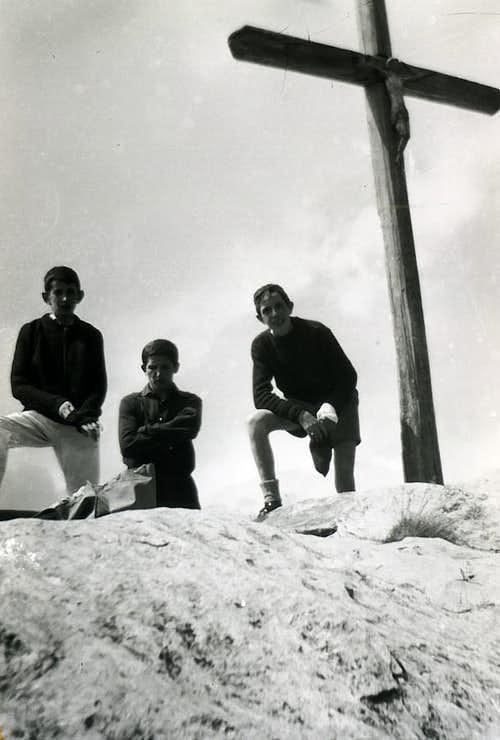 Baltea / 4c Pointe Chaligne directly from Aosta 1965