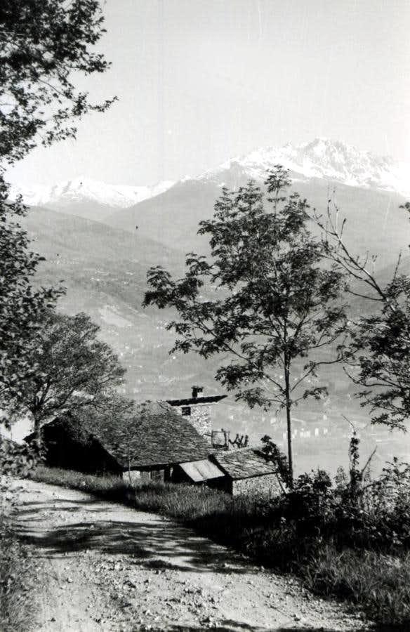 Adults / 3 Reverier du Tzat above Pian Felina 1969