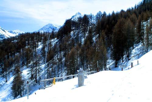 La Torrasse Ascending Southeast from Les Druges 2004