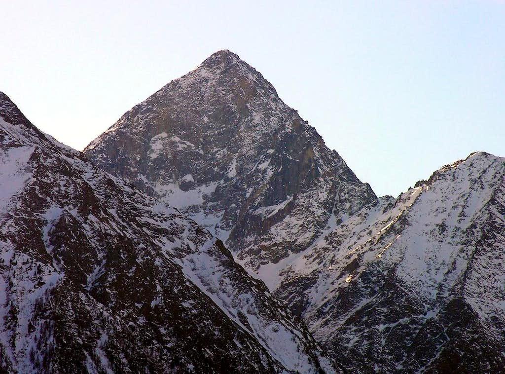 La Torrasse Monte Emilius from Northeast Years 2000