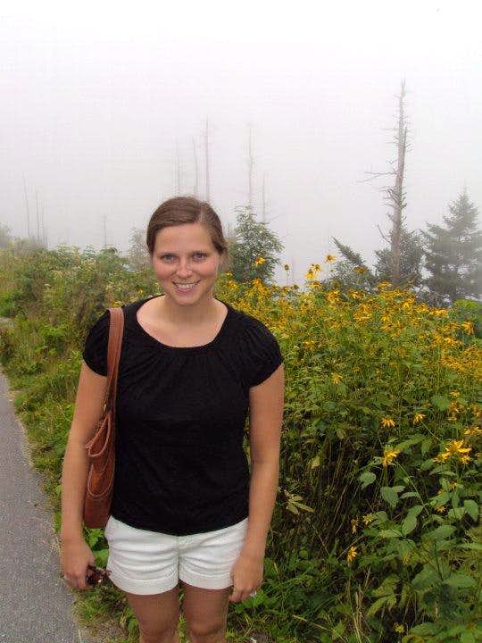 Clingmans Dome on a perfect day