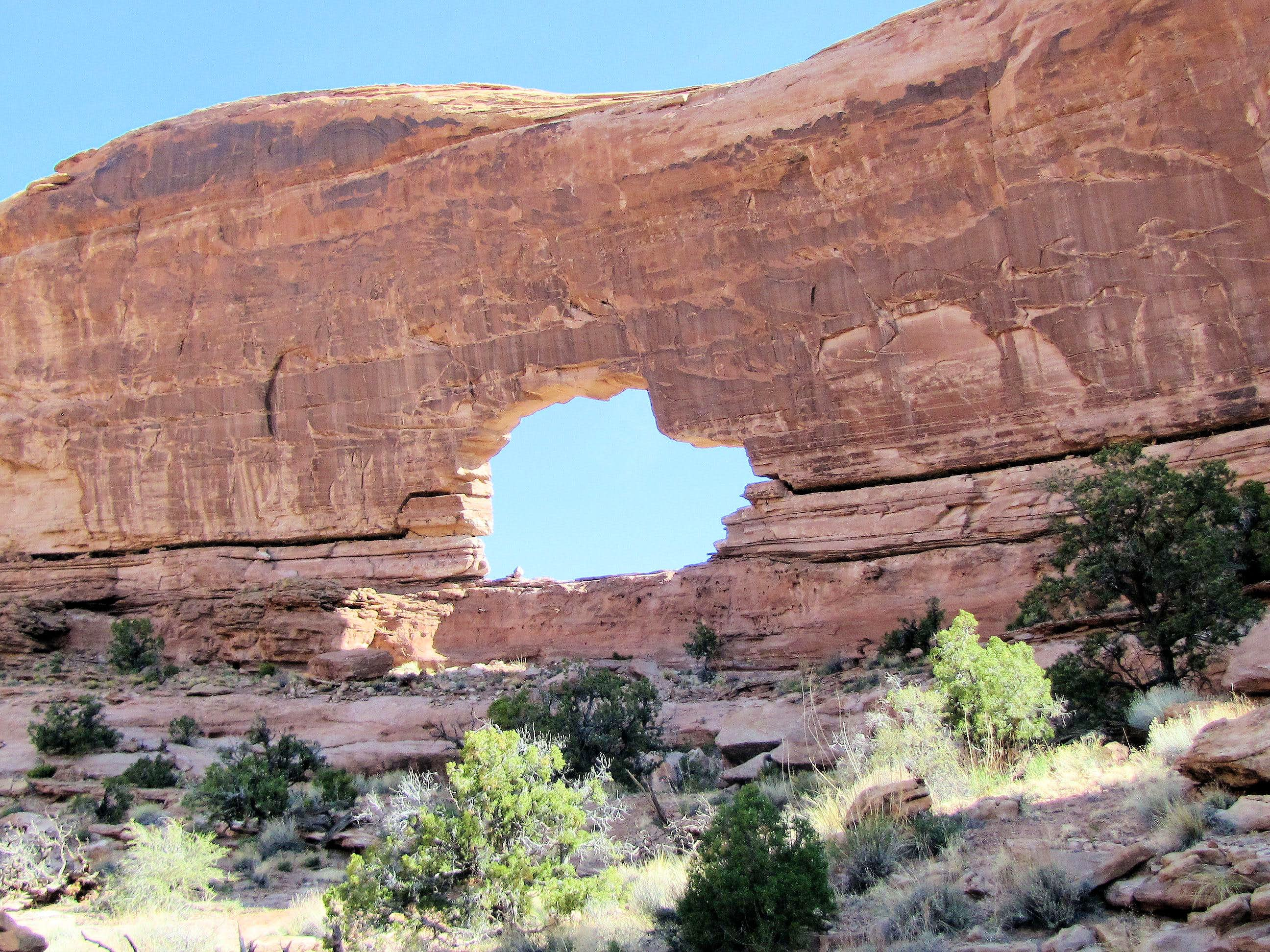 Jeep Arch (Gold Bar Arch) Trail