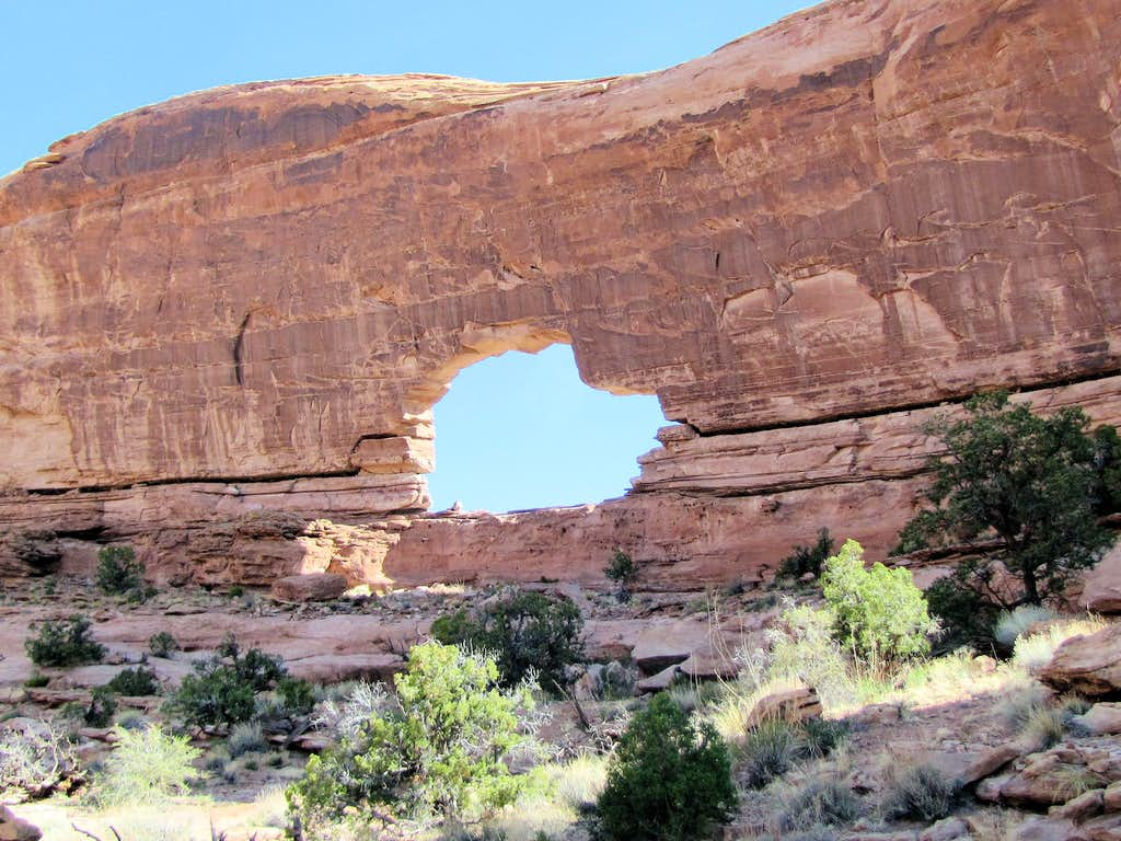 West face of Jeep Arch