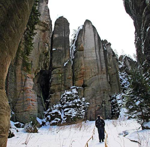 Teplice Rocks Hike