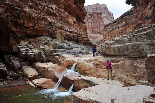 Dark Canyon cascade