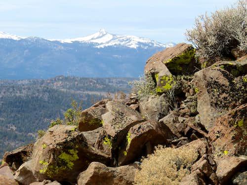 View northwest to Hawkins Peak