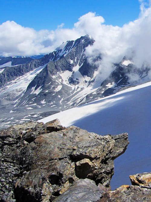 Hochgall from high on Schneebiger Nock